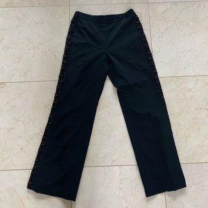 Oscar De La Renta Beaded Pants NWOT Size 6P